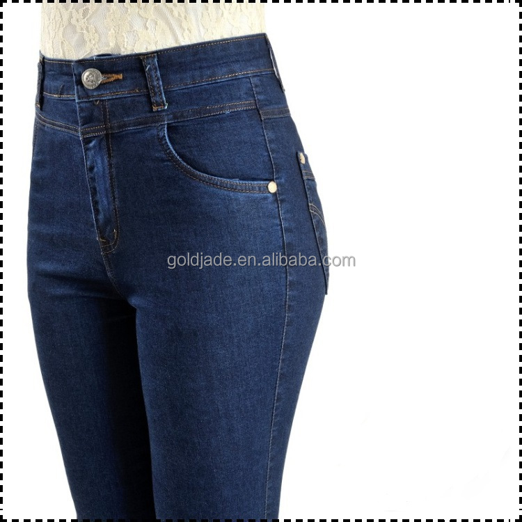 Women Blue High Waist Skinny Jeans,Women's High Waisted Skinny ...