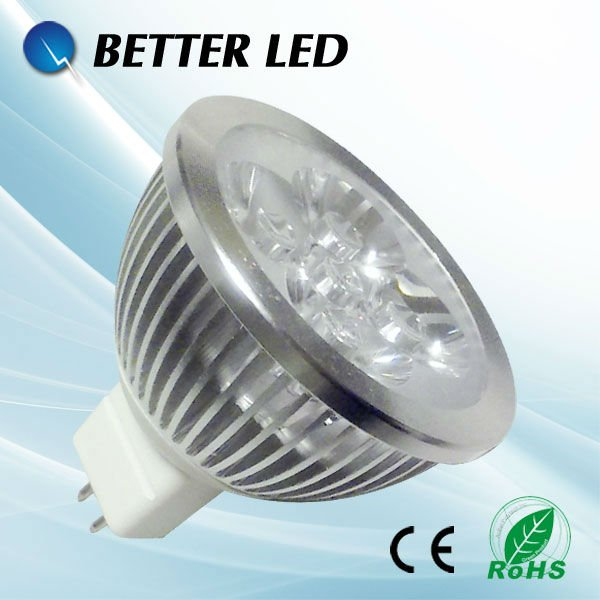MR16 GU10 E27 E14 led spotlight 4w