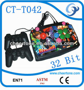 32 Bits tv game player,educational games for children