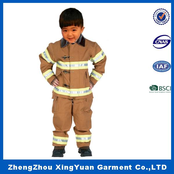 2016 fiesta de disfraces para niños niños cosplay traje traje de bombero
