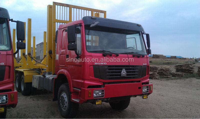 Buy/SELL SINOTRUK HOWO 6X4 Log Carrier truck Uganda