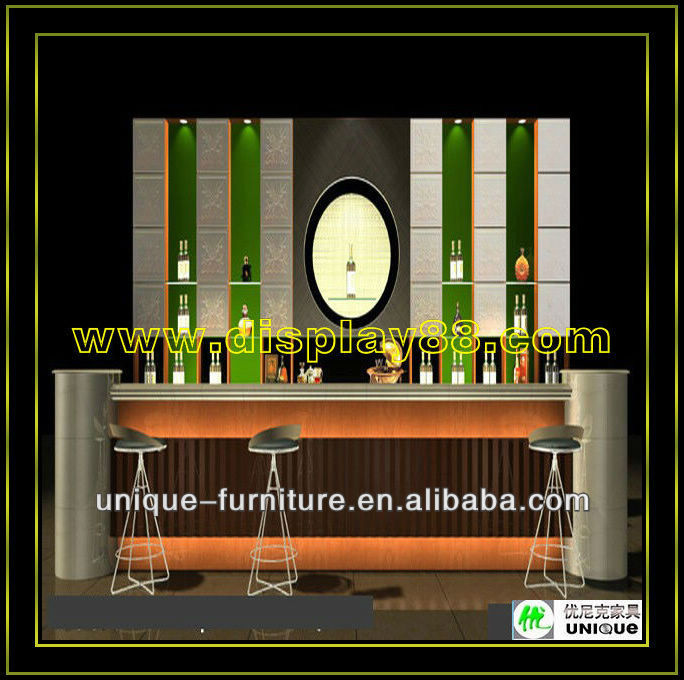 Wine Bar Counter Design For Sale