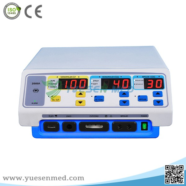 operating room first aid electro high frequency bipolar electrosurgical cautery machine