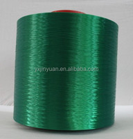 High Tenacity super Low shrinkage Polyester green Yarn
