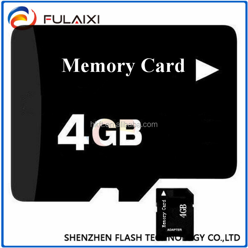 China supplier 1-16GB SD memory card for OEM camera & mobile phone
