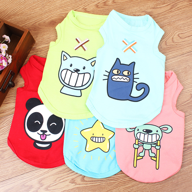 Funny shirts dog, dog clothes spring summer cute style
