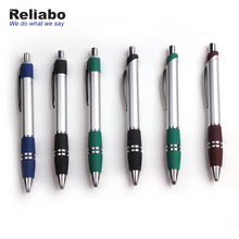 Reliabo March Expo Promotional Wholesale Free Sample Retractable Plastic Rolling Ball Pen