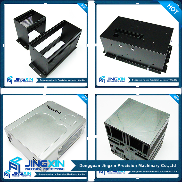 Jingxin OEM Custom Stainless Steel Sheet Metal Fabrication Rack Mount Chassis