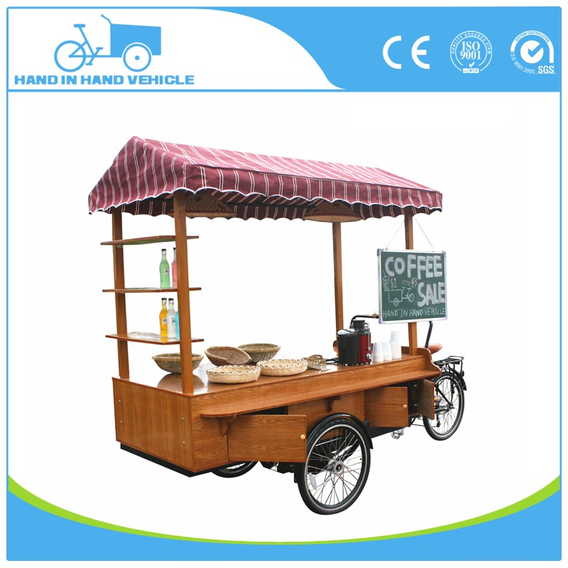 outdoor food cart bike for sale