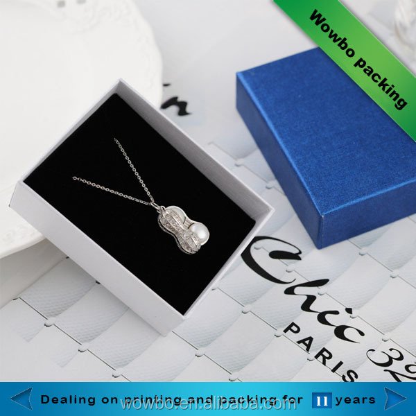 high quality personalized pearl necklace gift box for jewelry