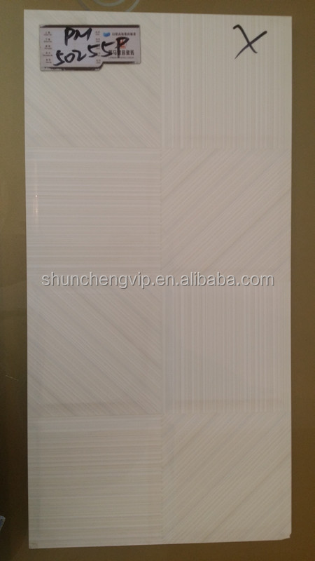 Cheap price polished porcelain tile 300x600mm for bathroom living room and kitchen