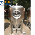 500L/5BBL Titanium plate outsourcing Stainless Steel Beer Fermenter stainless steel conical fermenter