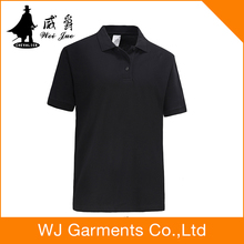 New arrival polo t-shirts customized shirts cheap black shirt printed