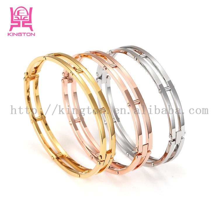 Rose Gold Jewellery Bangles Latest Designs Gold Bangles ...