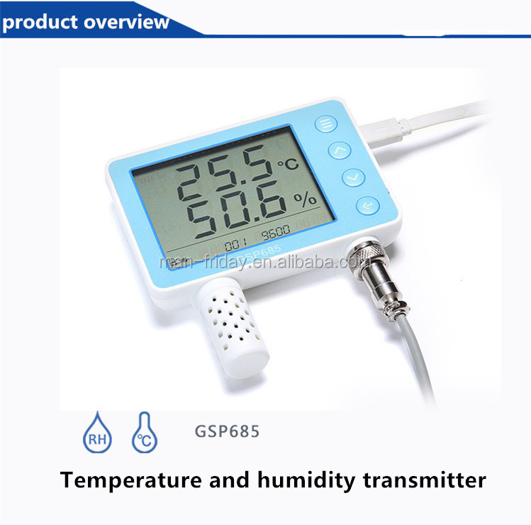 Useful Electronics GSP685 Digital Temperature and Humidity Transmitter Operation