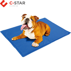 Pet Dog Cooling Mat Bamboo Ice Mat for Keeping Dogs Cool in Summer