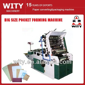 folding and enveloping machine