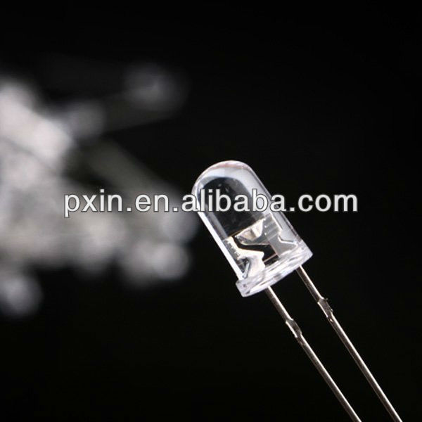 Super bright led diode 5mm with all single colors