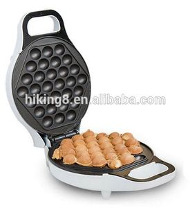 Non stick coating plates electric egg waffle maker