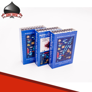 Top Sale Paper and Plastic Waterproof Custom Unique Design Printing Playing Poker Deck Game Card Set