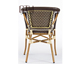 CTW French style bamboo look synthetic rattan woven cafe furniture