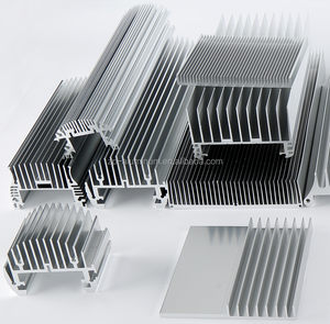 Guangzhou custom aluminum extruded heat sink factory