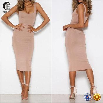 3016a5f07ef9 Names Of Ladies Dresses Women Summer Bodycon Midi Dress - Buy ...