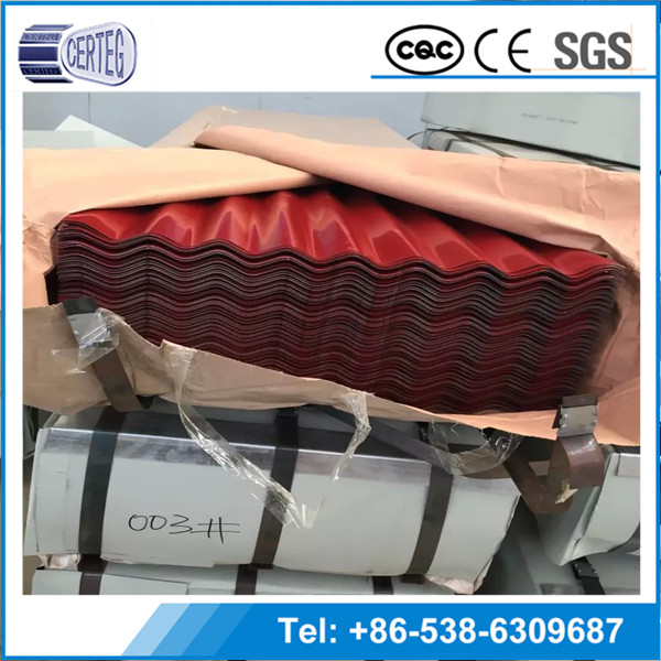 Low Cost Ecological construction materials colorful coated roofing sheet