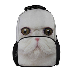 2014 latest leisure polyester/canvas animal travel backpack