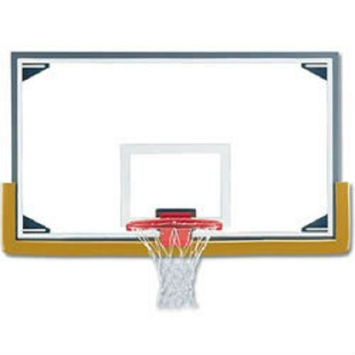 Short Unbreakable Glass Conversion Basketball Backboard