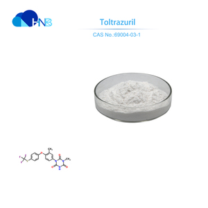 HNB Manufacturer toltrazuril 99% powder with cheap price in bulk CAS 69004-03-1 toltrazuril 5% BEST QUALITY