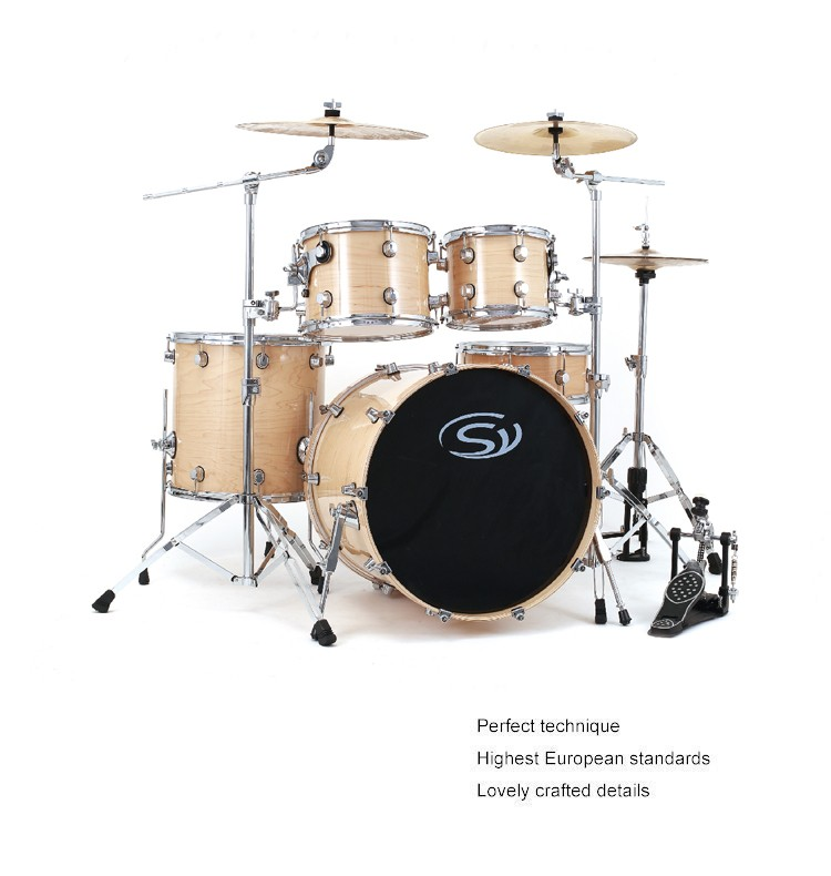 5pcs high quality professional maple wood acoustic drum set buy acoustic drum set tama drum. Black Bedroom Furniture Sets. Home Design Ideas