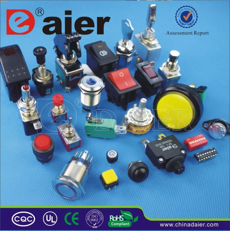 Daier rotary lamp switch
