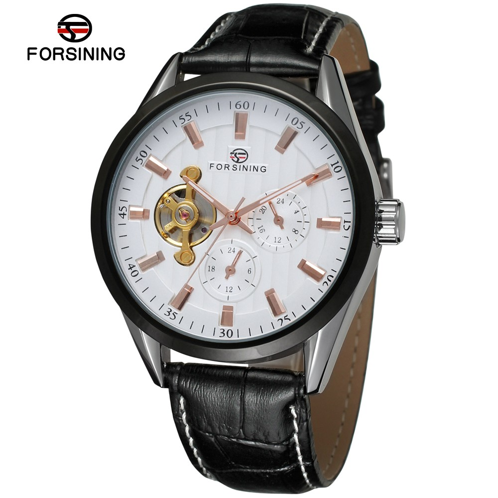 whole forsining automatic movement genuine leather band whole forsining automatic movement genuine leather band western watches men wrist watch alibaba com