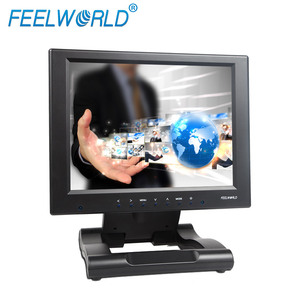 "tft lcd resistive touchscreen 10"" display speak built in kiosk atm gps system car led monitor with mulitpal interface vga hdmi"