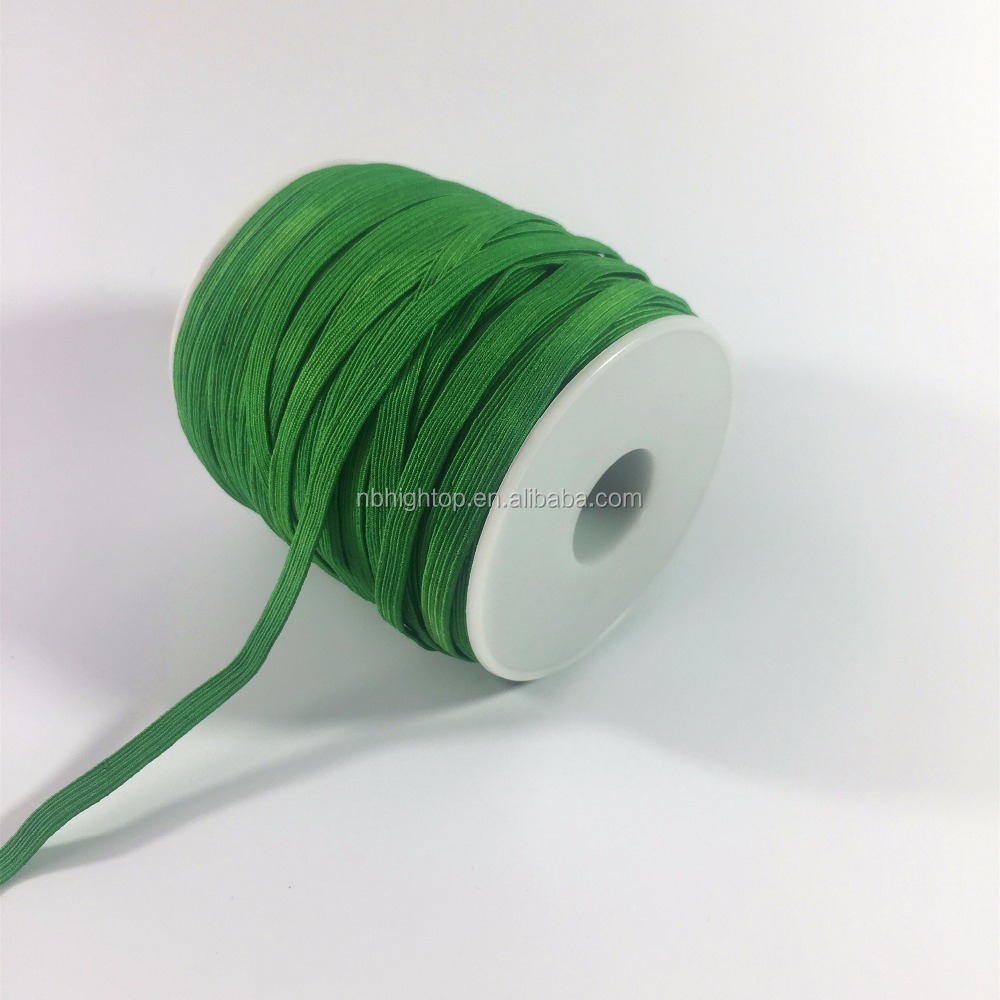 high quality custom polyester braid elastic banded