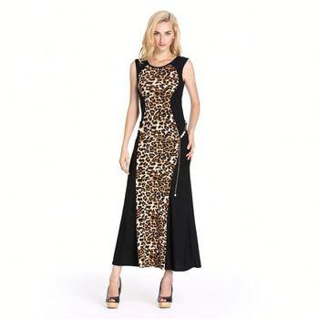 9adbfa385d Fashion dress women summer 2014 2015 sexy maxi dress Leopard print wedding  dress