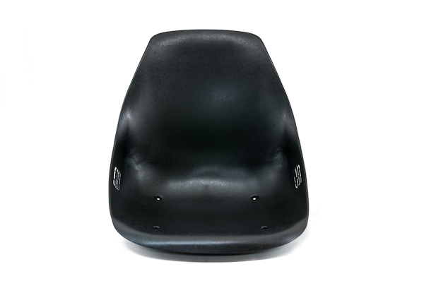 SINGLE PLASTIC SEAT FOR GO KART