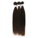 Grade 8A Virgin Brazilian Remy Human Hair Extension Straight 4# Color Suitable for All Woman
