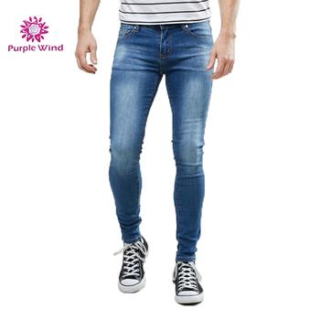 5e8a87dbfa1 2018 New Trend Fashion Basic Style Zipped Denim Mens Skinny Jeans ...