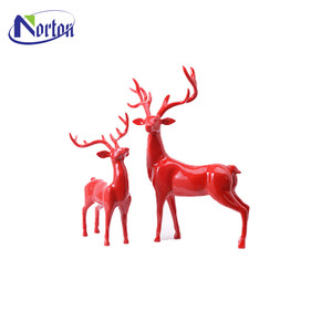 new handmade ornaments modern home decorations resin deer figurine NT--FS241J