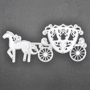 Craft cutting dies the pumpkin carriage metal stencil for paper cutting dies