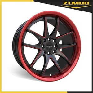 ZUMBO S0048 Italian Style car replica refit custom alloy wheel rim Hot Sale Black Alloy Wheel In India