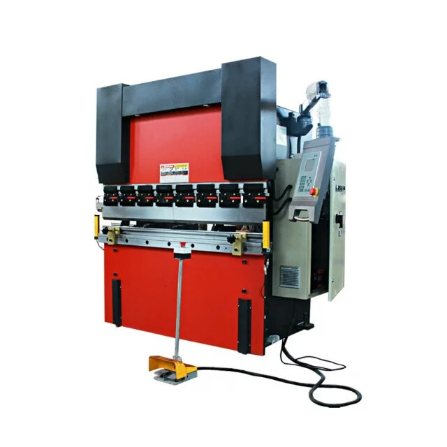 low price iron sheet metal small cnc press brake, copper aluminum steel plate cnc hydraulic press brake for sale