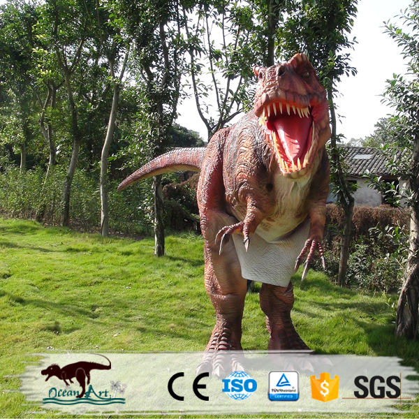 OA2630 2016 walking with dinosaurs outfit t rex costume adult