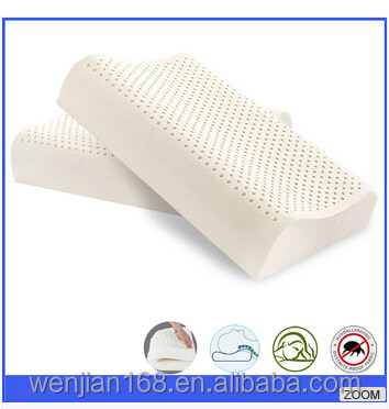 Manufacture for cooling foam gel latex wave Travel neck Bath pillow