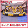Sport go cart inflatable race track for sale
