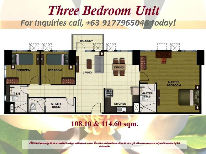3 bedroom Condo in New Manila, Quezon City, Phils