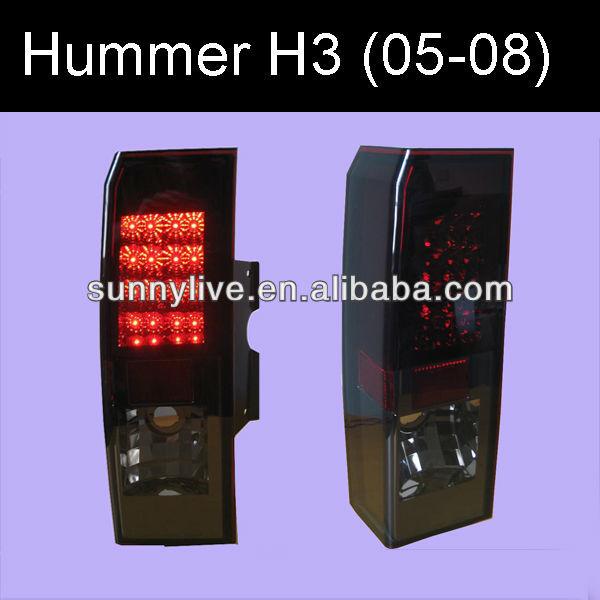 Hummer H3 Led Tail Lamp Sonar Style 2005-08 Year
