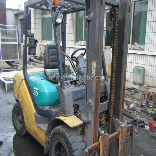 FD30-16 3ton used diesel forklift Japan's original forklift axle hot sell
